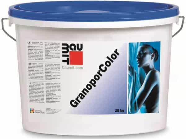 Baumit GranoporColor акриловая краска База* (для колеровки в цвета, оканчивающиеся на 2,3,4,5)
