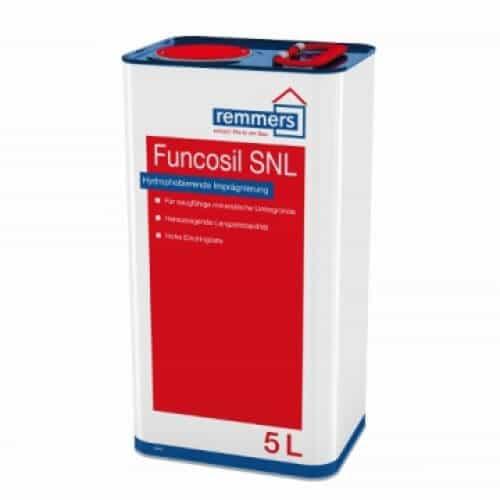 Гидрофобизатор для кирпича, цемента, штукатурки Remmers Funcosil SNL