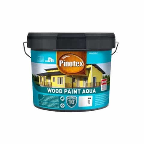 Краска Pinotex Wood Paint Aqua белая BW, база BC, BM + 4 цвета