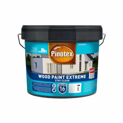 Краска Pinotex Wood Paint Extreme белая BW, база BC, BM