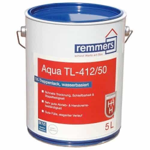Паркетный лак Aqua TL-412-Treppenlack